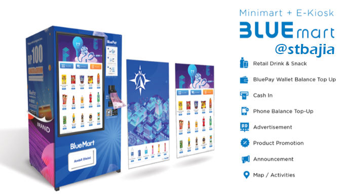 Vending Machine BlueMart di STBA JIA